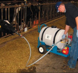 Drenching Cows with the Drench-Mate System